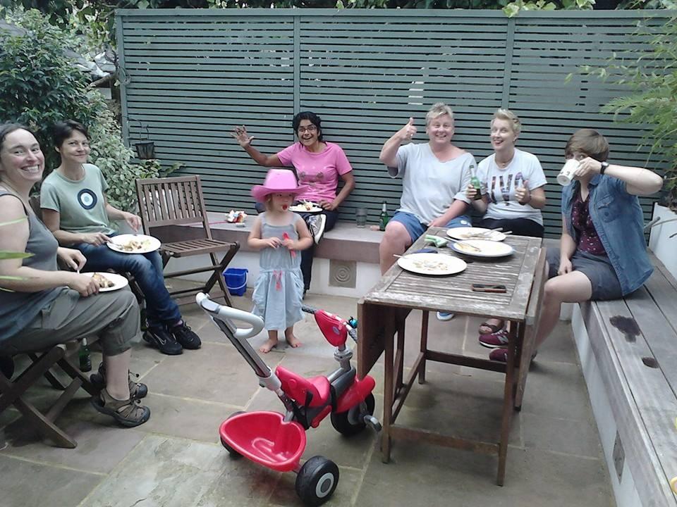 blog mates in garden