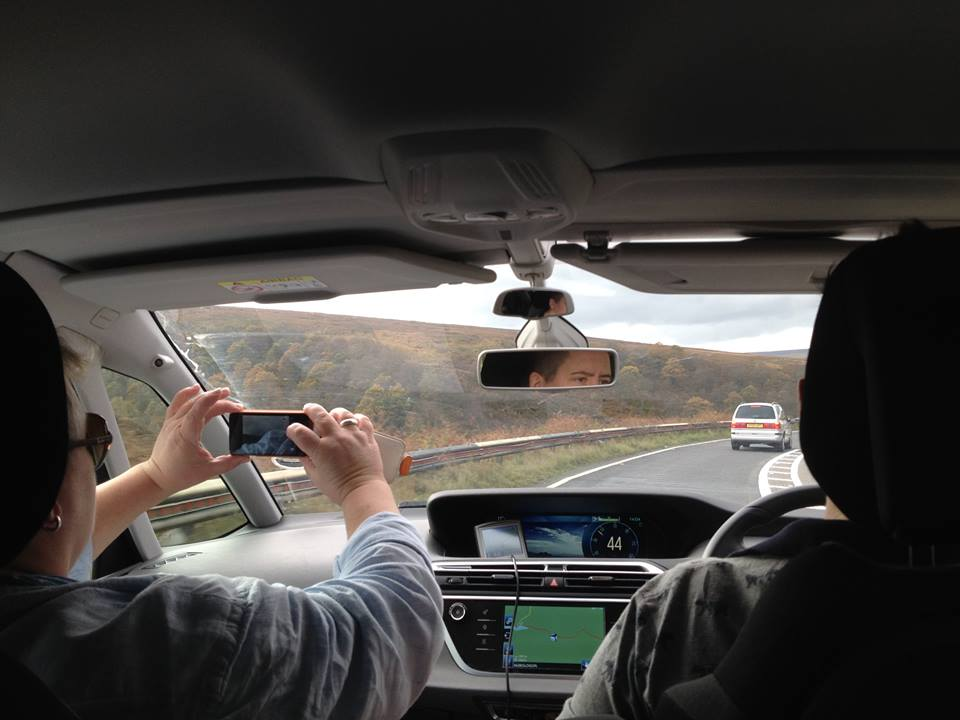 blog notts to manch car