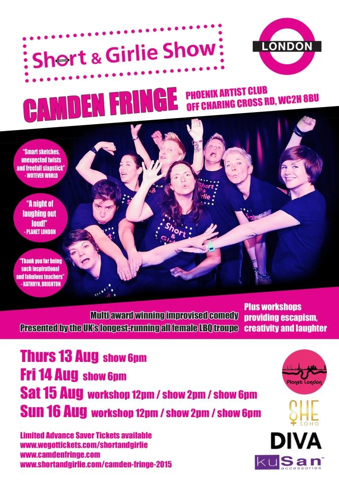 Camden Fringe flyer